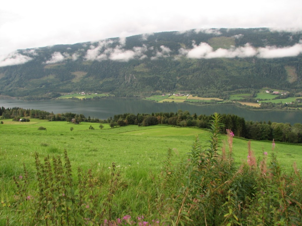 View from Glomstad