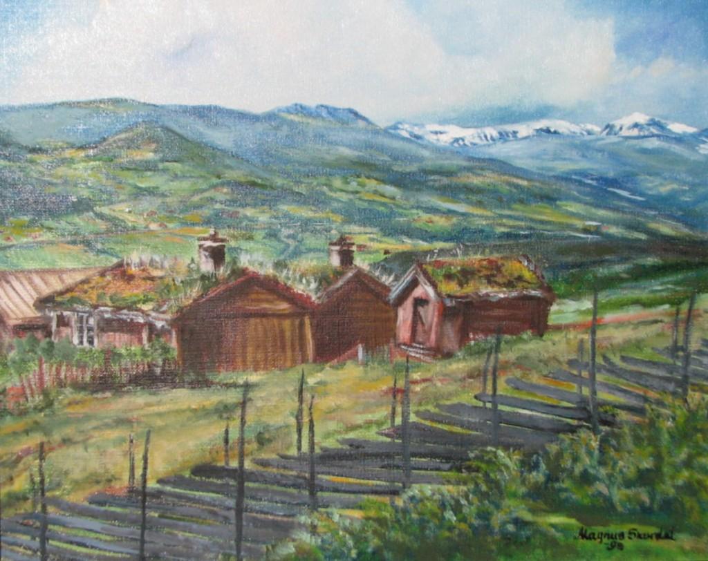 Skurdal painting