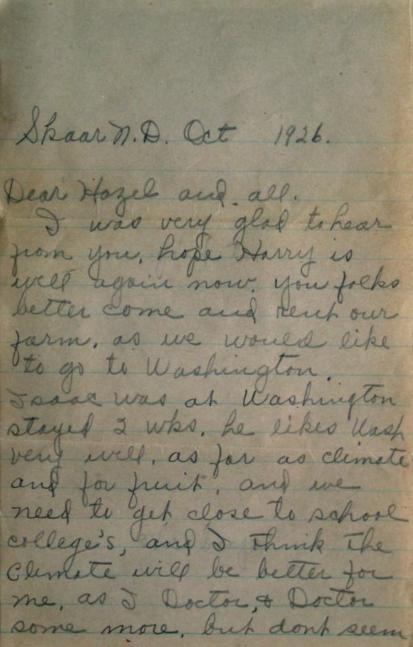 1926 anna_letter_pg1