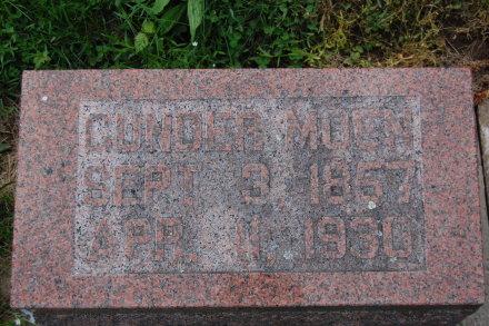 Gunder Moen's stone