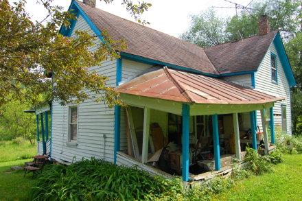 Ole Larson's house