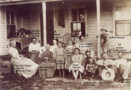 Photo circa 1910, courtesy of Carmen Stifstad.