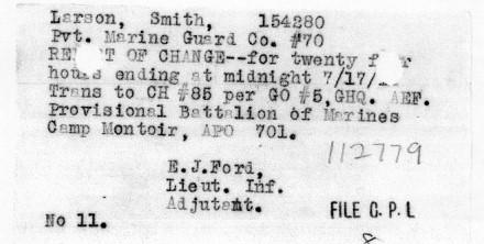 1919 hospital order