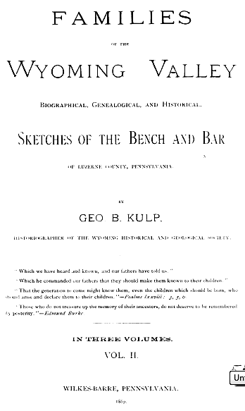 Wtoming bio title page