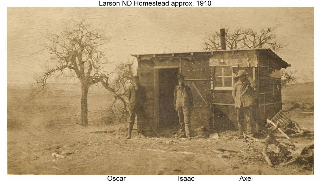 1910c Larson ND Homestead w-text