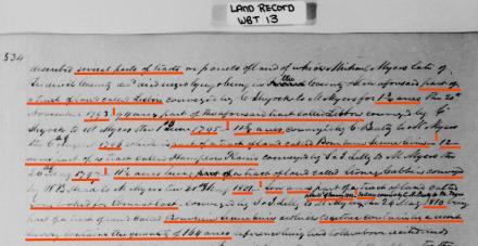 1851 land sale
