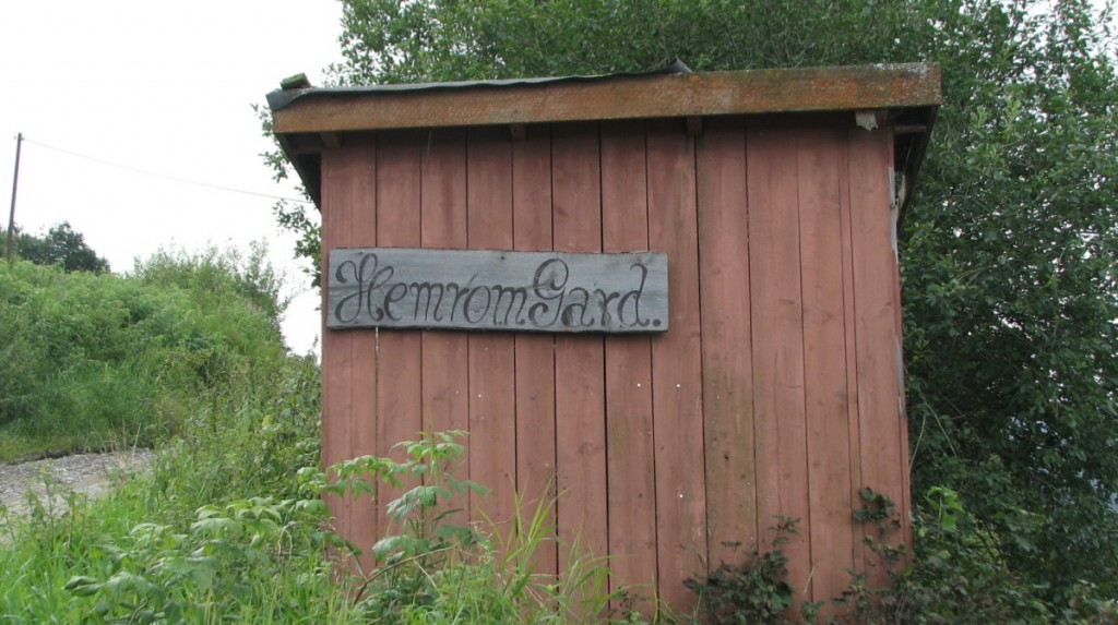 Hemrom sign