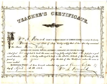 1866 Helen Teach
