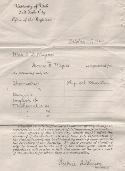1908 registration