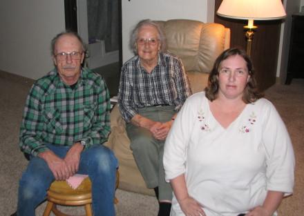 Stephen, Joyce, and Vickie