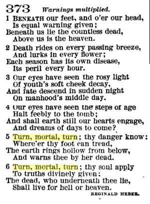 Hymn words