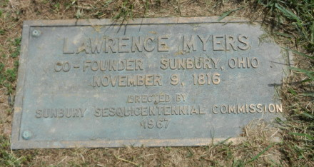 Lawrence Plaque