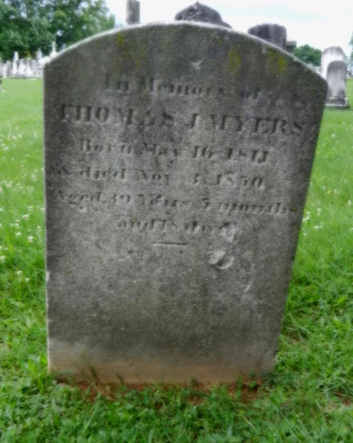 TJ Myers stone