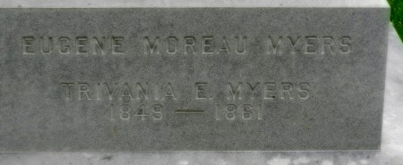 1861 Trivania and Eugene inscription