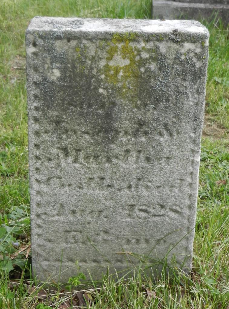 1828 Thomas Castle stone