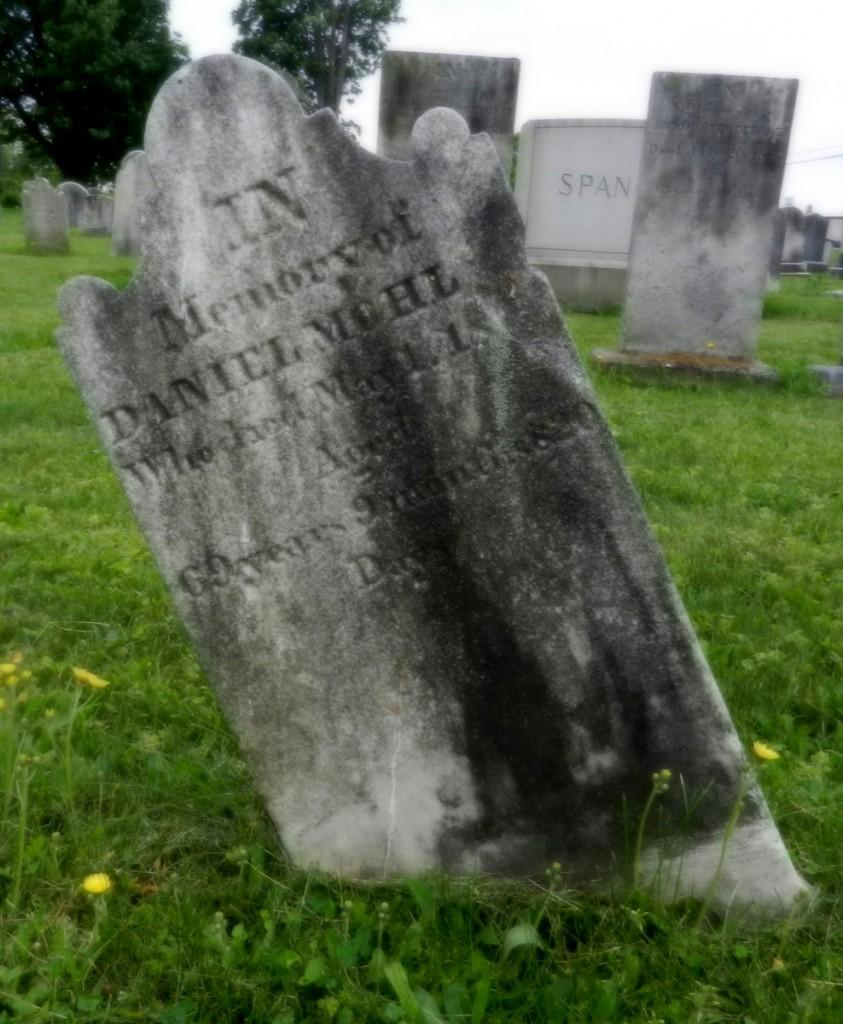 Daniel Mohler stone