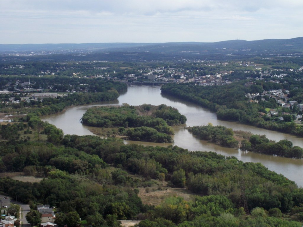 Wyoming Valley Aerial