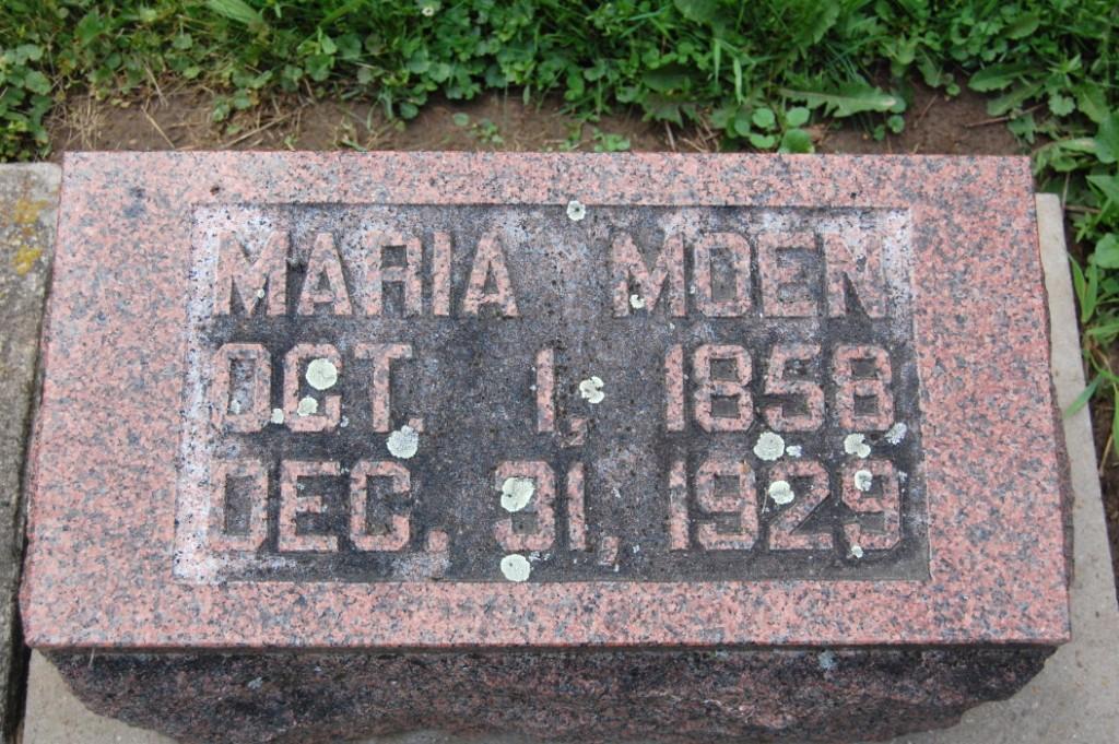 Marie Moen stone