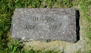 1927 Hellina O stone