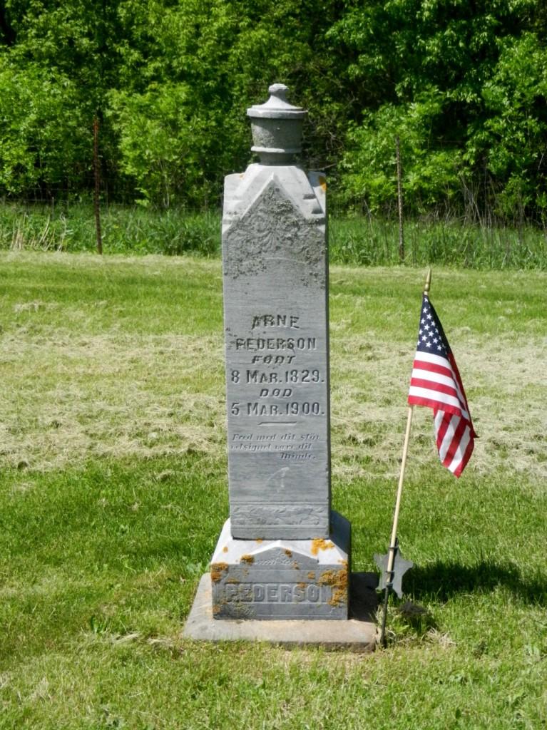 Arne Pederson stone