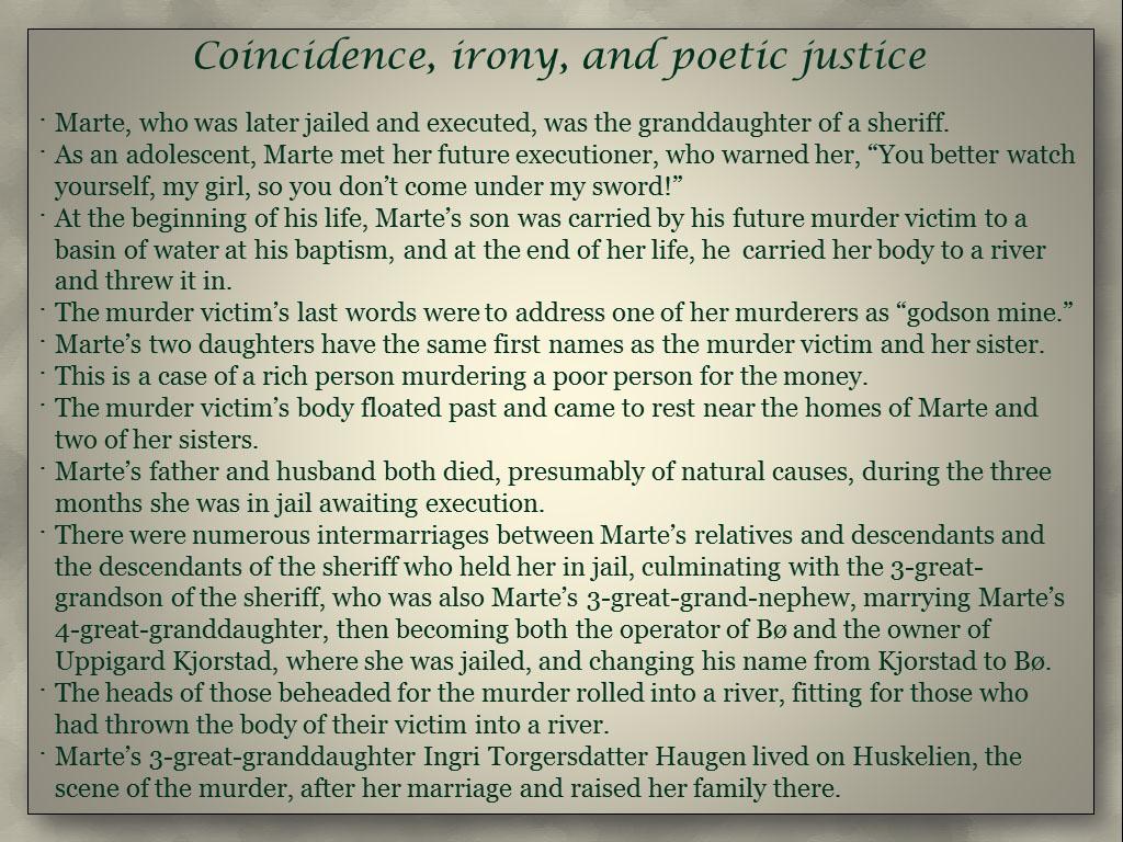 Coincidence slide JL