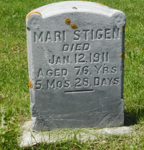 1890-1911-2013 Mari stone