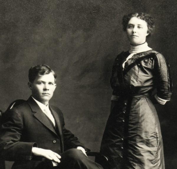 1912 Ike + Anna wed2