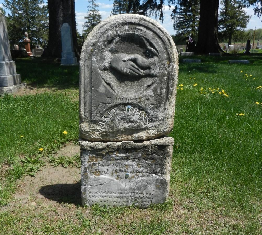 1880 Marit stone