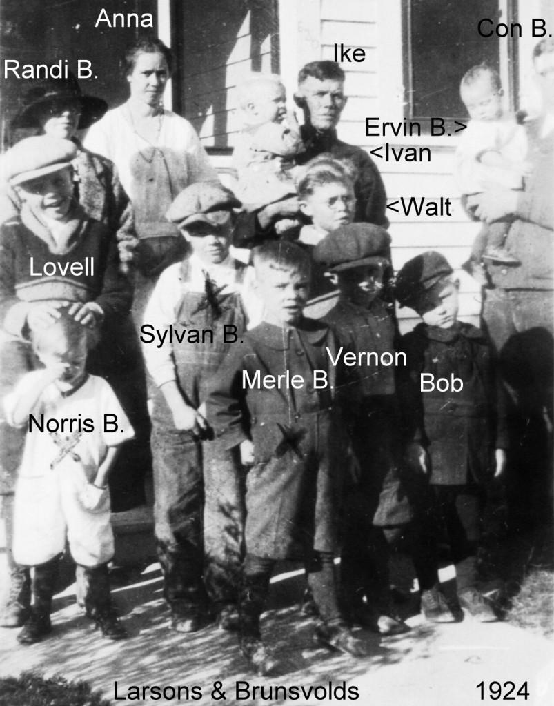 1924 Ike Anna + 5 + names