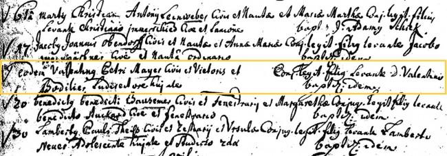 1729 Valentin bapt