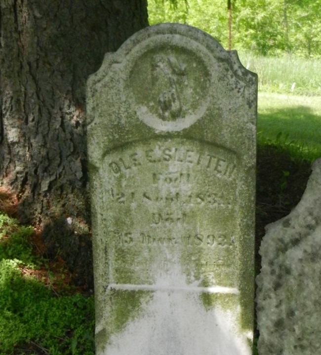 1892 Ole Sletten stonei