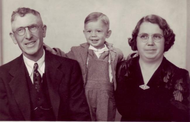 1930s maybe Henry  unk child Genevieve