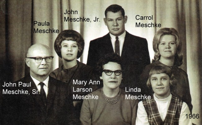 1966 Meschke Family