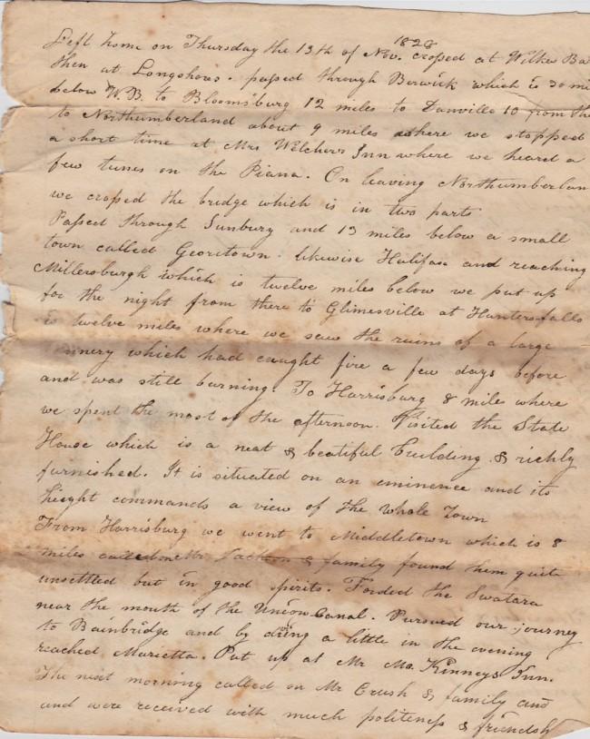 1828 Journal
