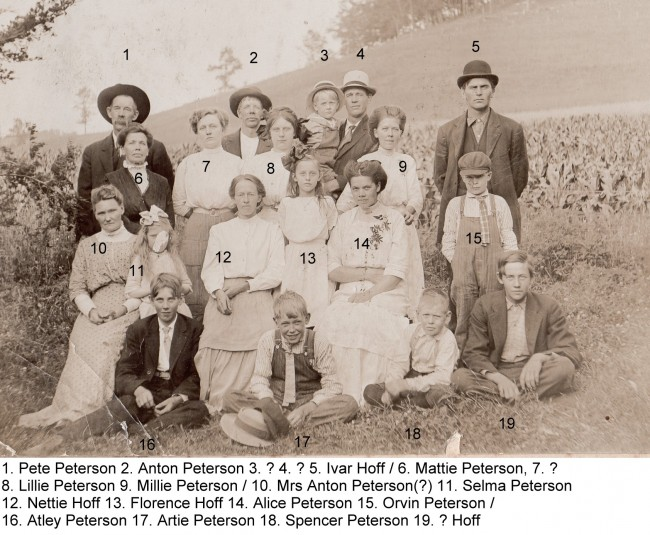 1910c Petersons Hoffs w-names