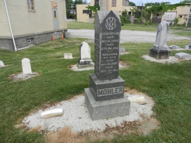 John Mohler stone