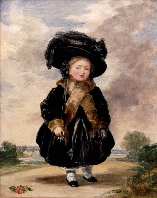 Victoria_aged_Four