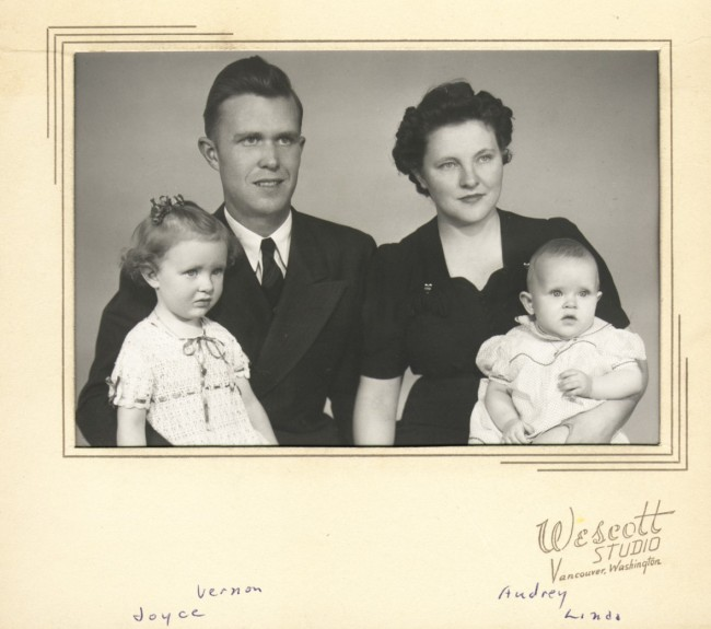 1945 Vern Aud Joyce Linda port
