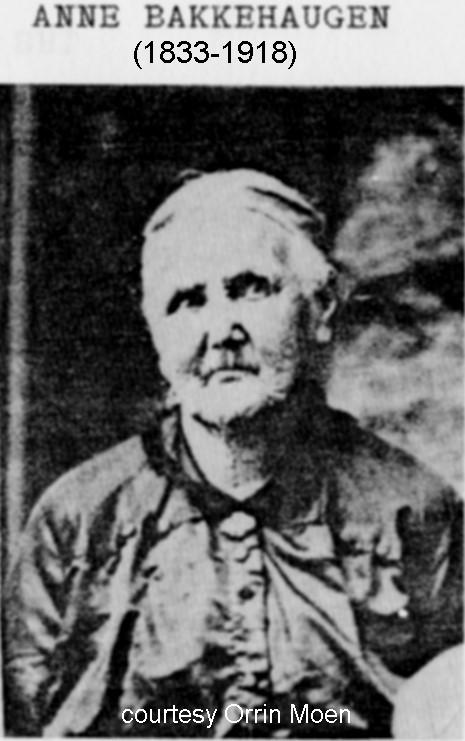 1833 Anne Bakkehaugeni