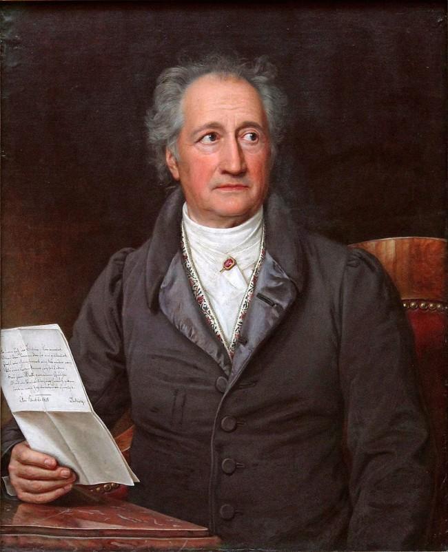 portrait by Joseph Karl Steiler, 1828