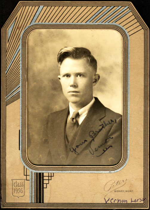 1936 Vern HS sr