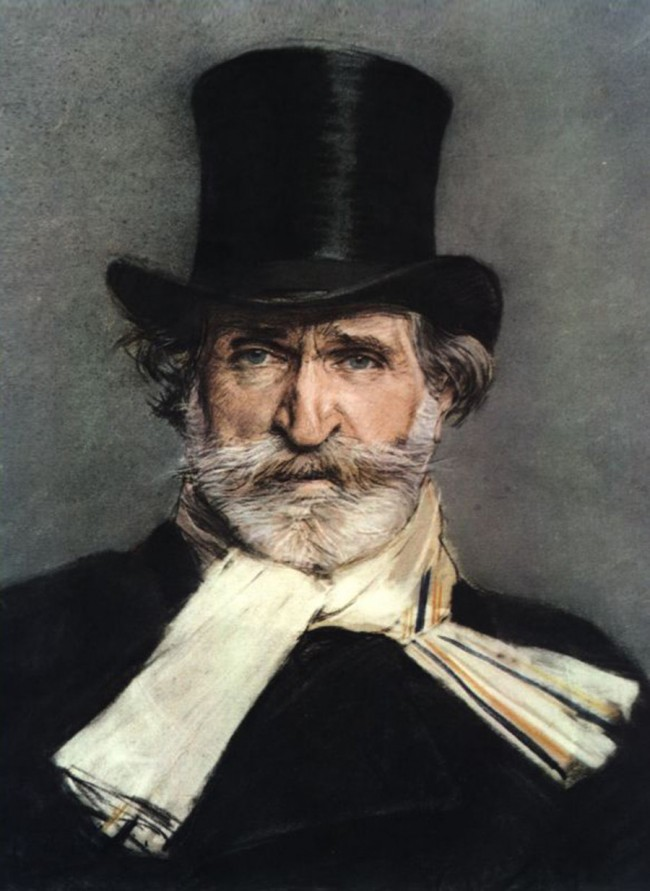Portrait by Giuseppe Baldini