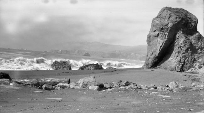 Goat Rock Shoreline, Bodega Bay, Ca., 3/52