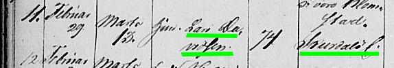 1840 Lars Davidsen burial