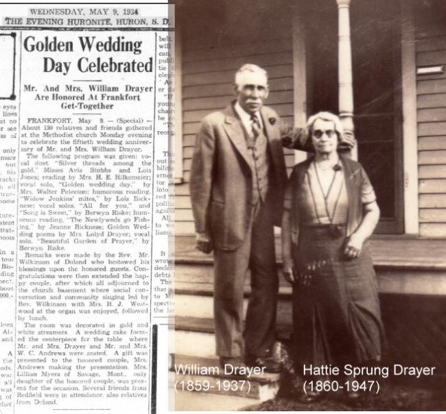 1934 Drayer golden compo