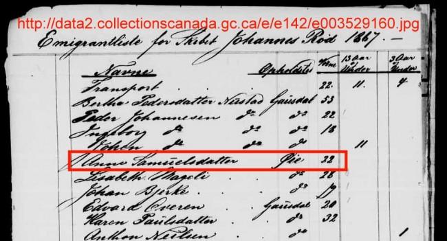 1867 AnneSamPassList